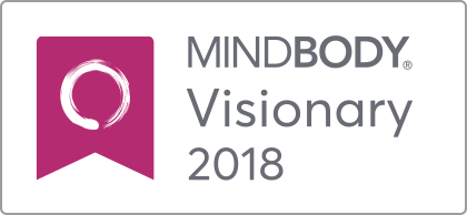 MINDBODY Visionary Badge 2X